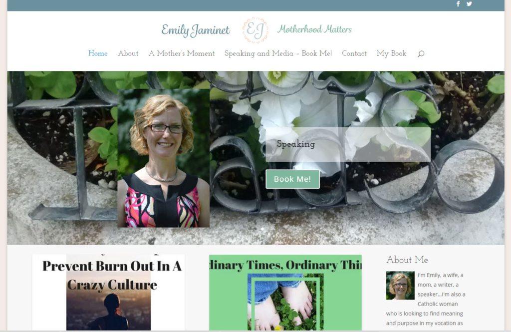 Author/speaker Emily Jaminet