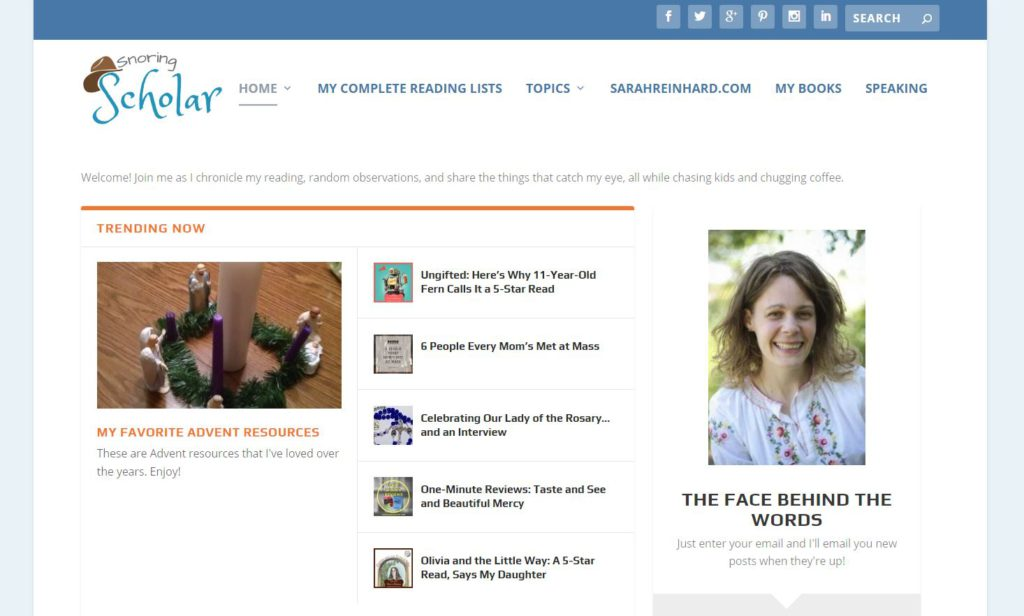 Snoring scholar homepage