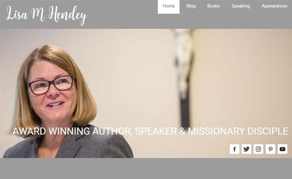 Lisa M Hendey Website