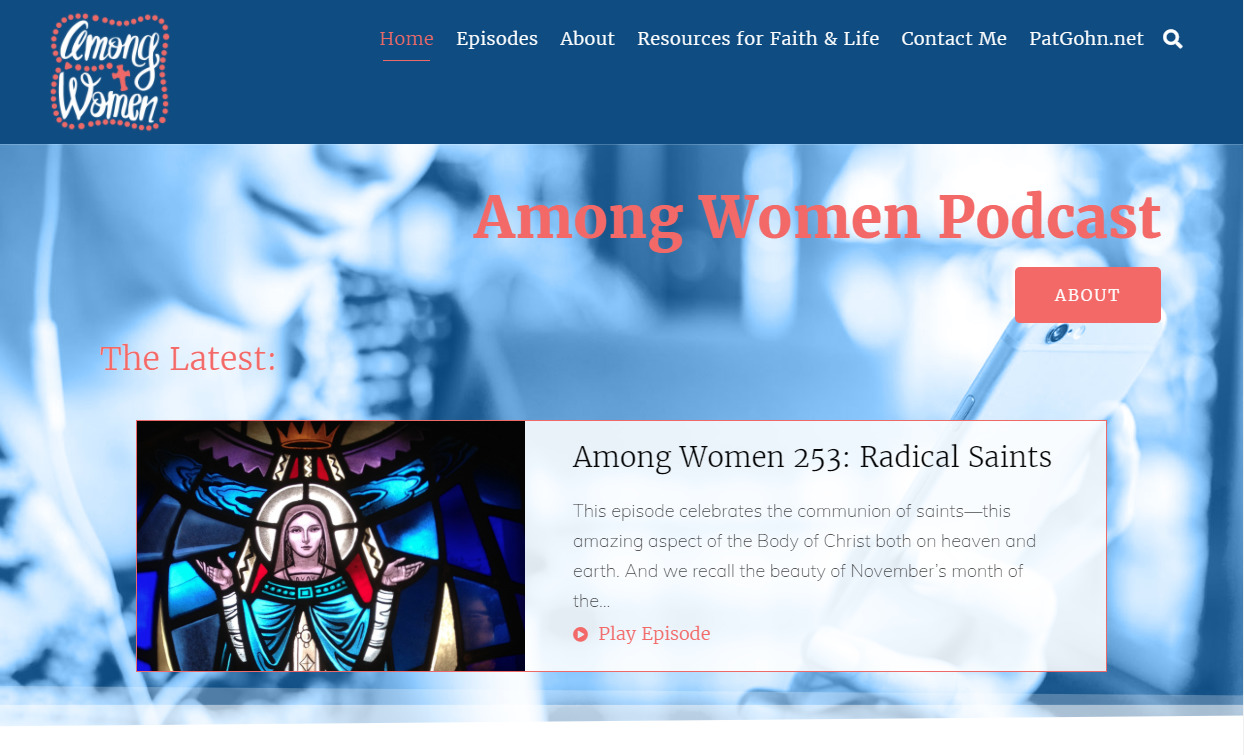 Among Women Podcast Homepage