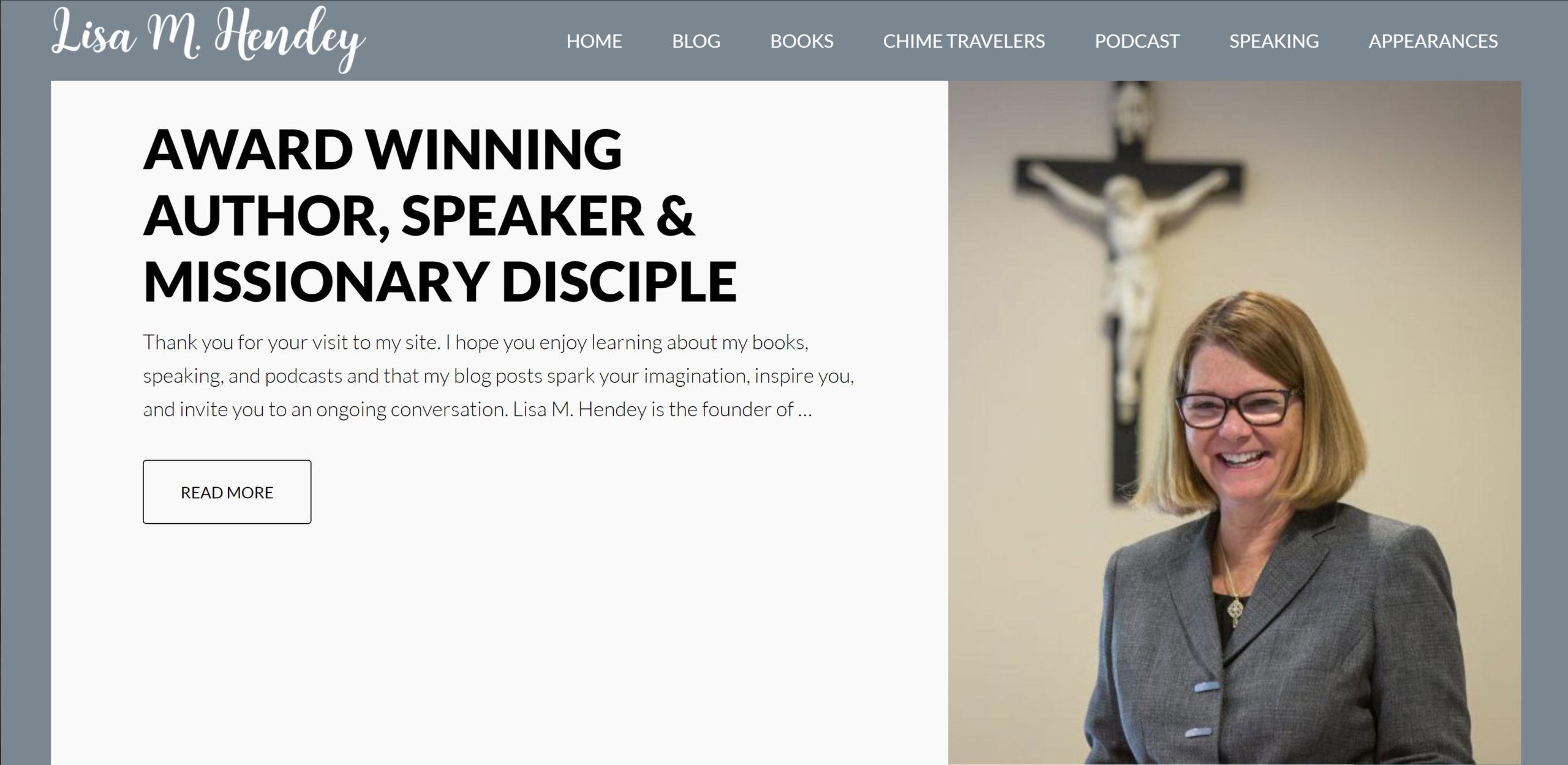 Lisa Hendey Website