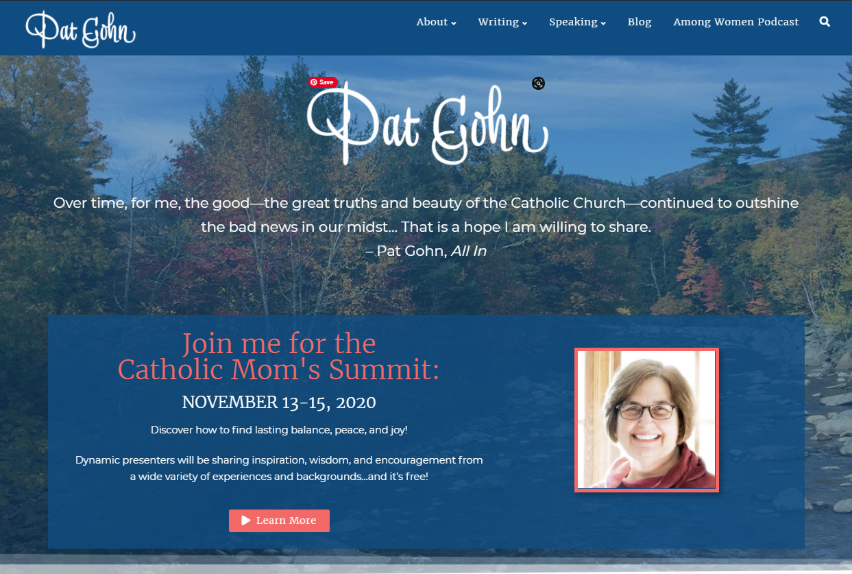 PatGohn.net Homepage