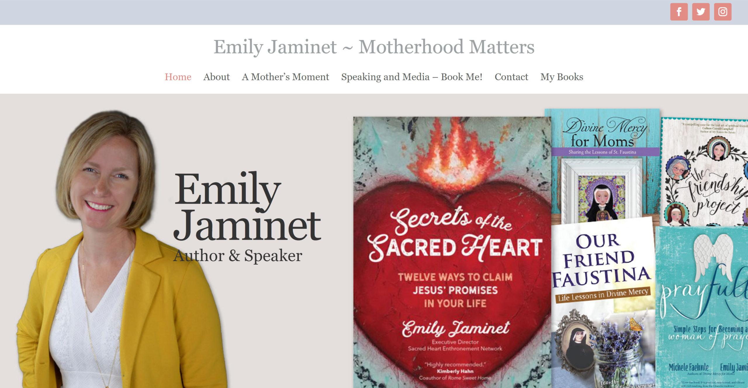 Emily Jaminet Homepage