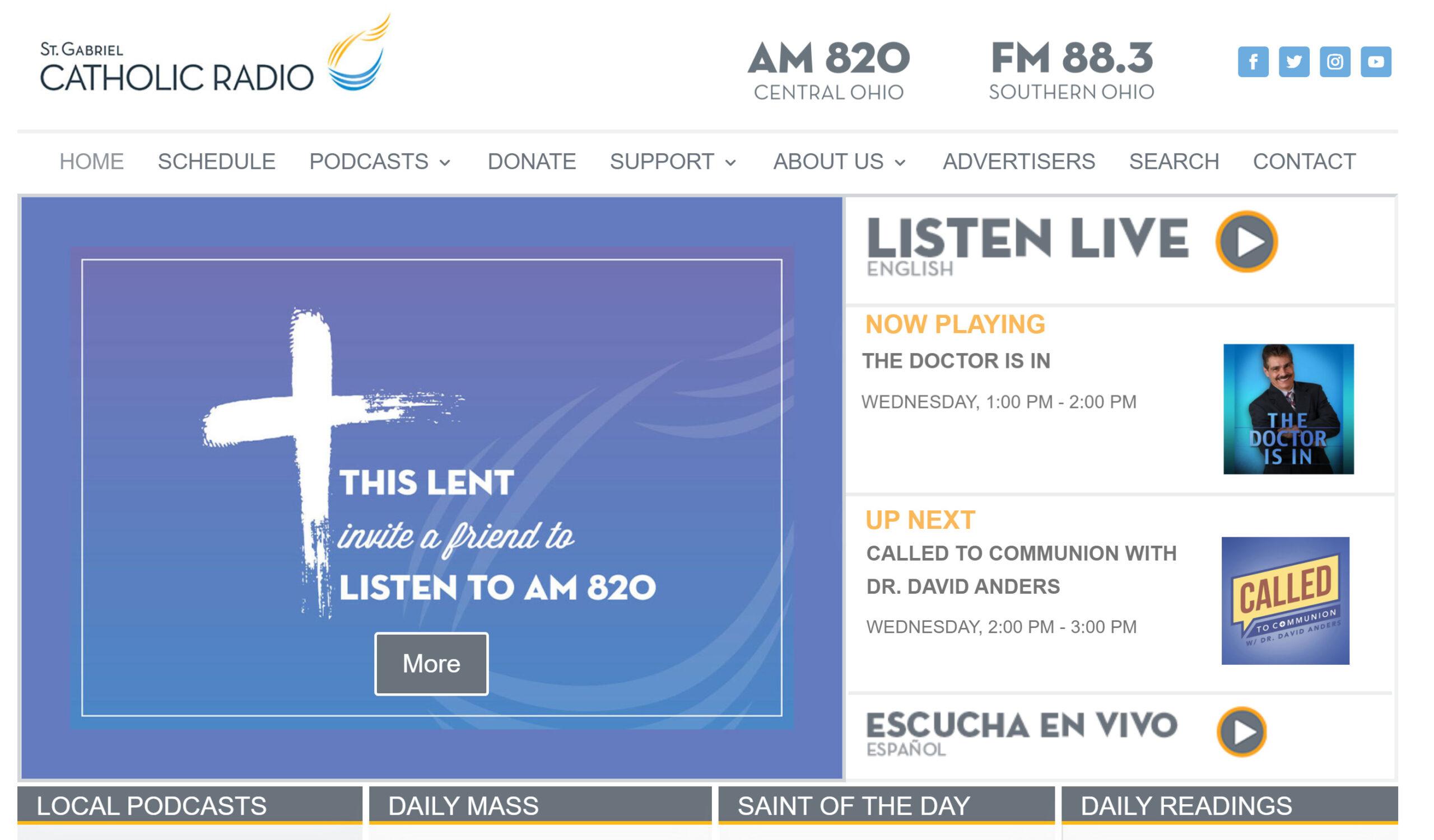 St Gabriel Catholic Radio