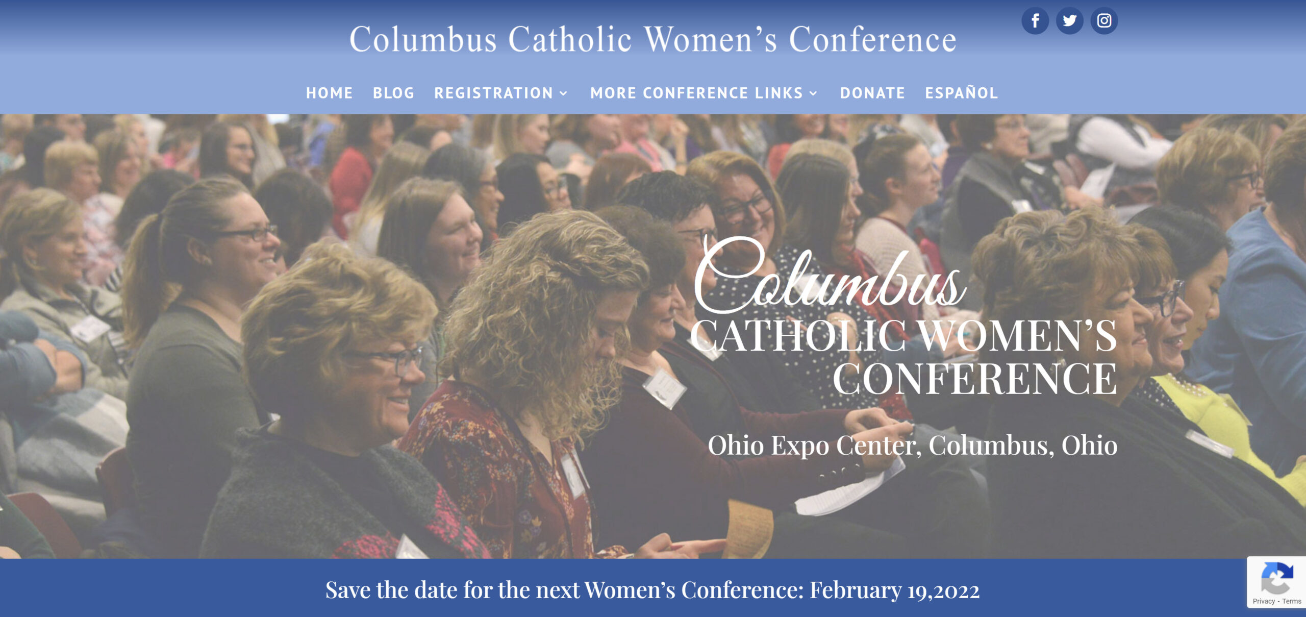 Columbus Catholic Womens Conference Homepage