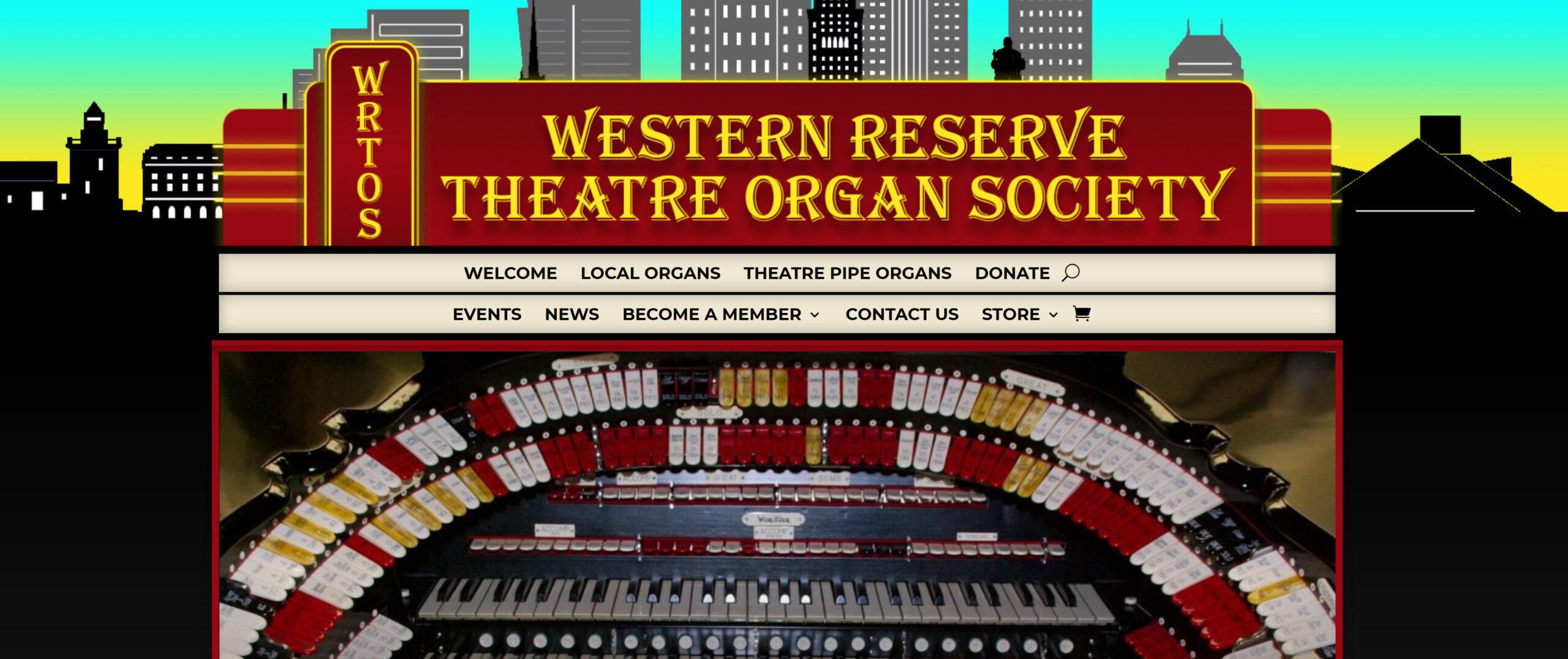 Western Reserve Theatre Organ Society Homepage